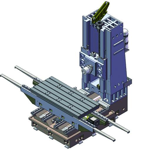 LW-1814卧式加工中心